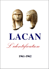 Jacques Lacan, Seminar 9, Die Identifizierung, Version Staferla 2015, Titelseite