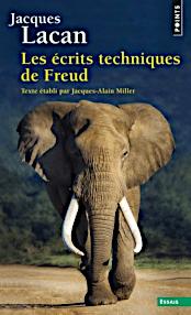 Jacques Lacan, Seminar 1, Les écrits techniques de Freud, Seuil 1998, Titelbild