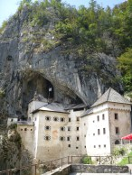 Cliffside Predjama castle