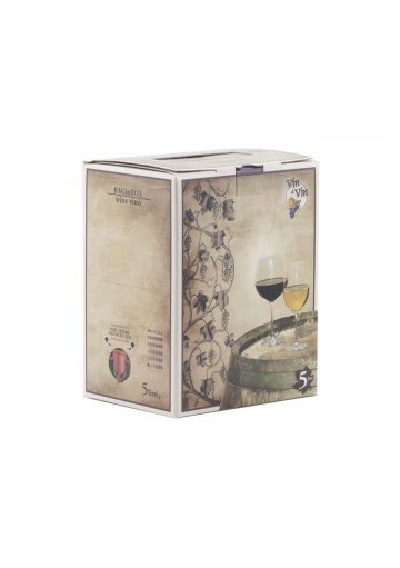 Vino Merlot Bag in Box 5 Litri