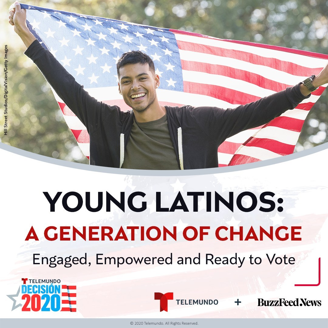 Motivados por la pandemia y los temas sociales, los jóvenes latinos están energizados con la carrera presidencial y planean votar en noviembre