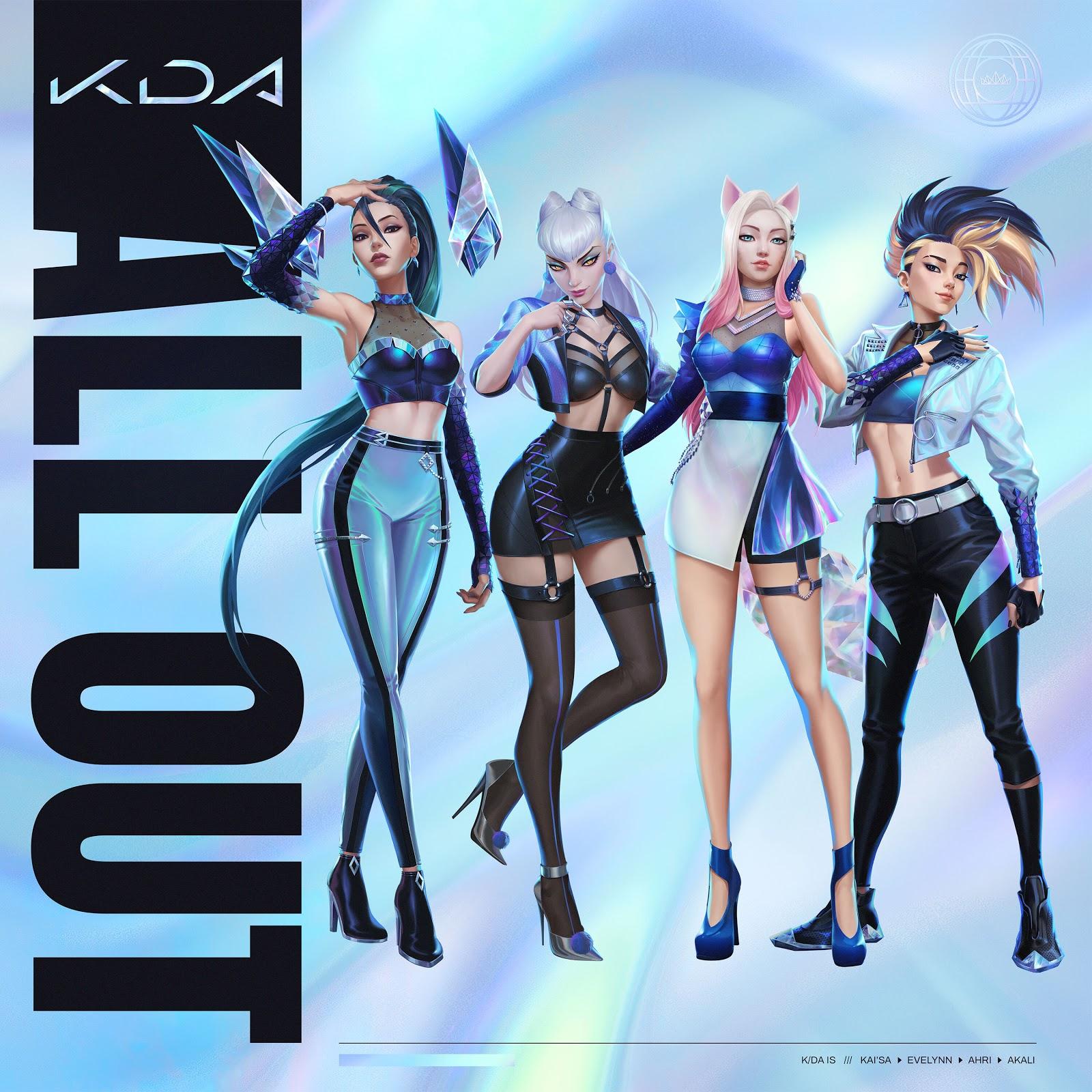 K-Pop: K/DA anuncia fecha de lanzamiento de su nuevo EP «ALL OUT»