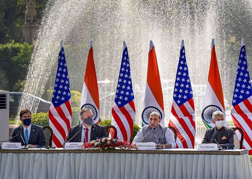 India y EEUU elevan su alianza militar en el marco de las tensiones con China