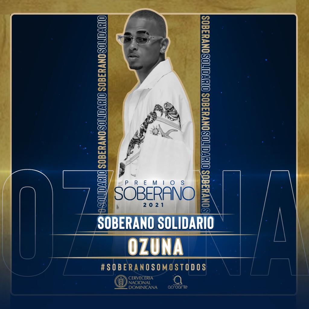 Ozuna Recibirá el Premio Especial Solidario en Premios Soberano 2021 por su Compromiso Social