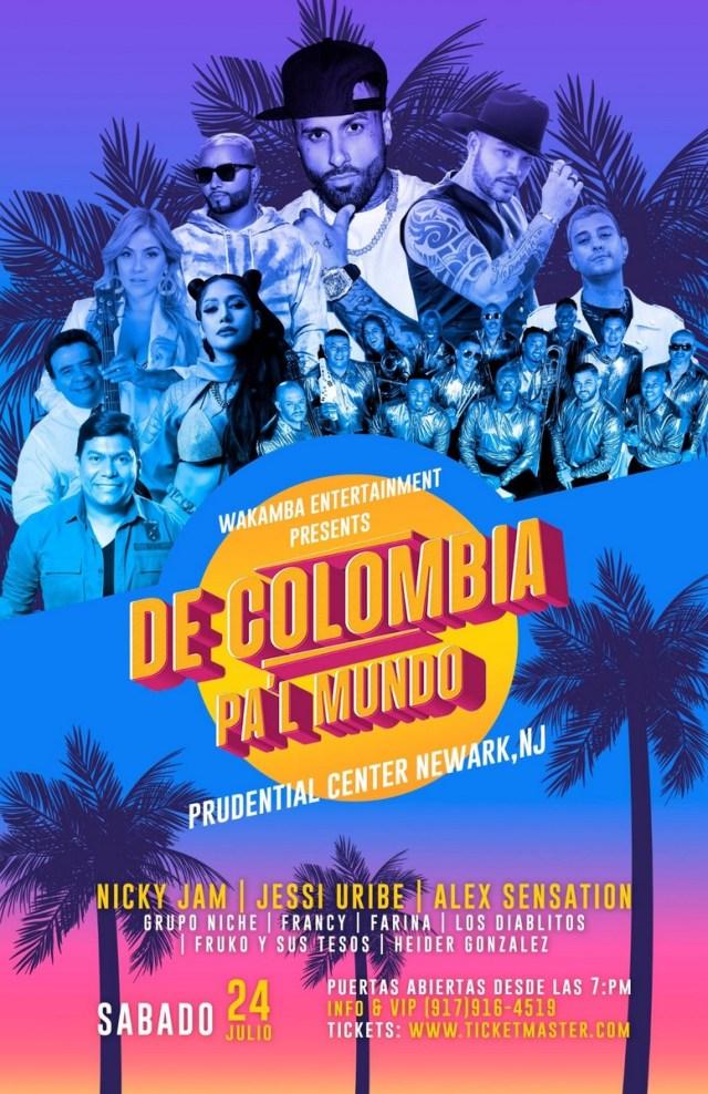 De Colombia Pa'l Mundo