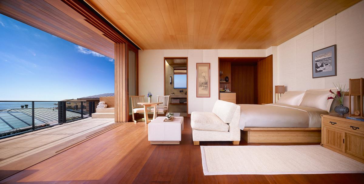 Nobu Ryokan Malibu votado mejor Resort Hotel en EE.UU. Continental