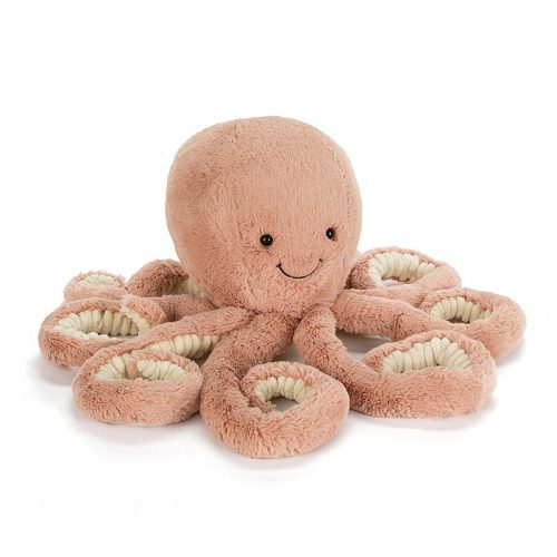 Peluche Poulpe Odell - Jellycat | Baby : 17€ / Little  : 28€ / Big : 50 €
