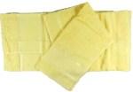SET ASCIUGAMANO CON BANDA AIDA - 1-giallo
