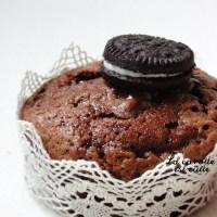 Muffin au chocolat cœur Oreo