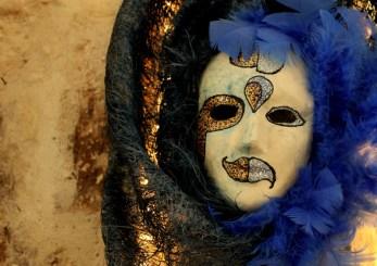 Maschera con piume