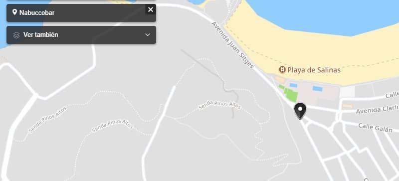 Nabuccobar en Playa de Salinas - Donde Comer en Salinas - Mejores Playas de Asturias