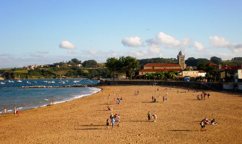 Playa de Luanco desde Las Caldas - Mejores Playas de Asturias