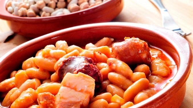 Que comer en Asturias rural - Comer Fabada - La Casa Azul de Las Caldas