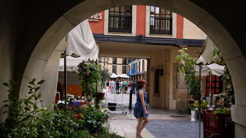 Que ver en Asturias rural - Mercado de El Fontán en Oviedo - La Casa Azul de Las Caldas