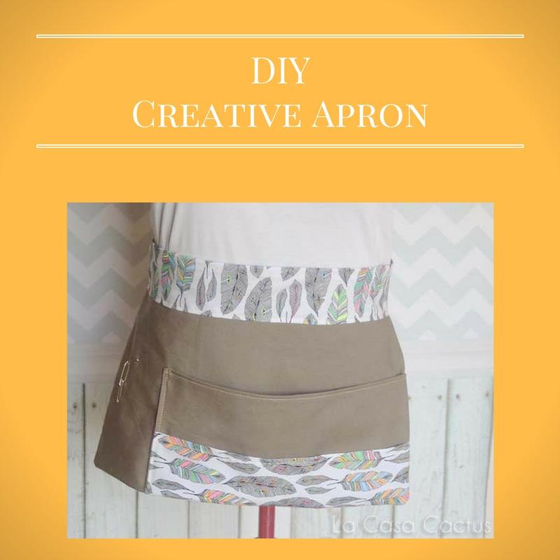 {DIY} A Creative Apron