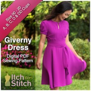 Itch to Stitch Giverny Ad