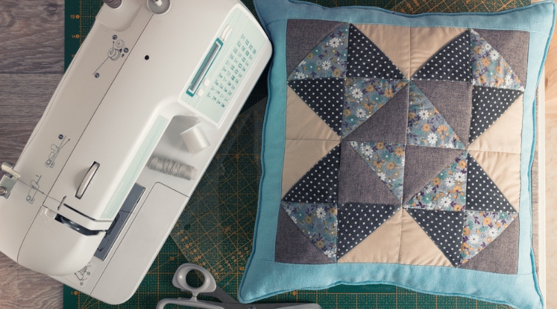 Annabelle presents: Sewing a patchwork pillow