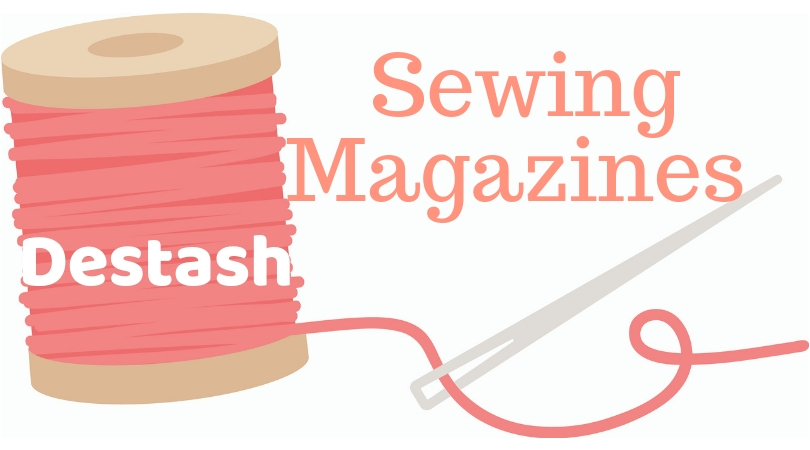 Destash: sewing magazines