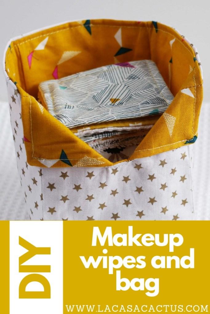 Makeup remover wipes, La Casa Cactus