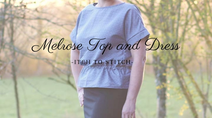 {Test} Haut ou robe Melrose (Itch to Stitch)