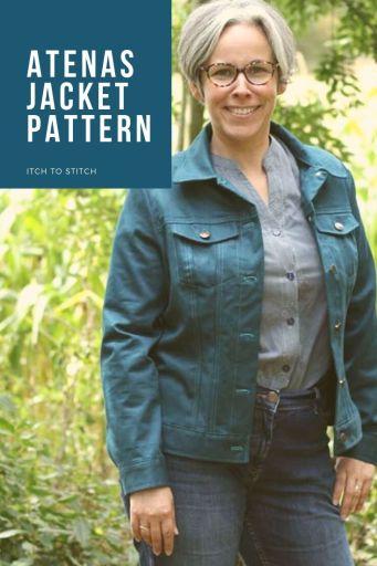 Atenas Jacket pattern
