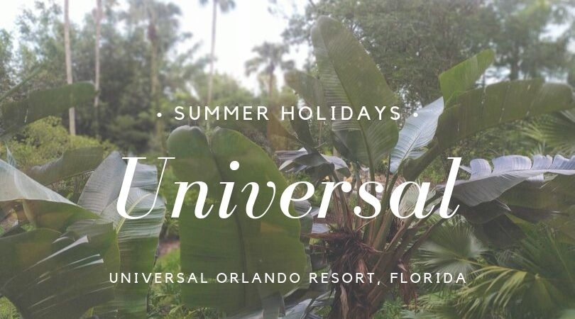 Universal Orlando, back to Florida