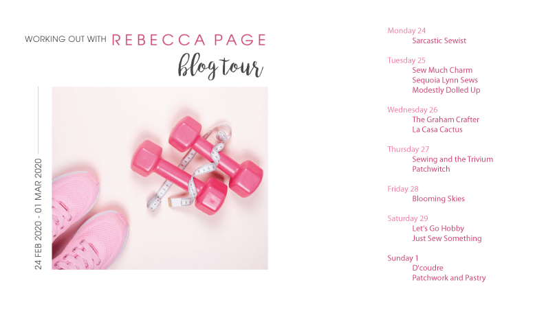 Working Out with Rebecca Page blogtour