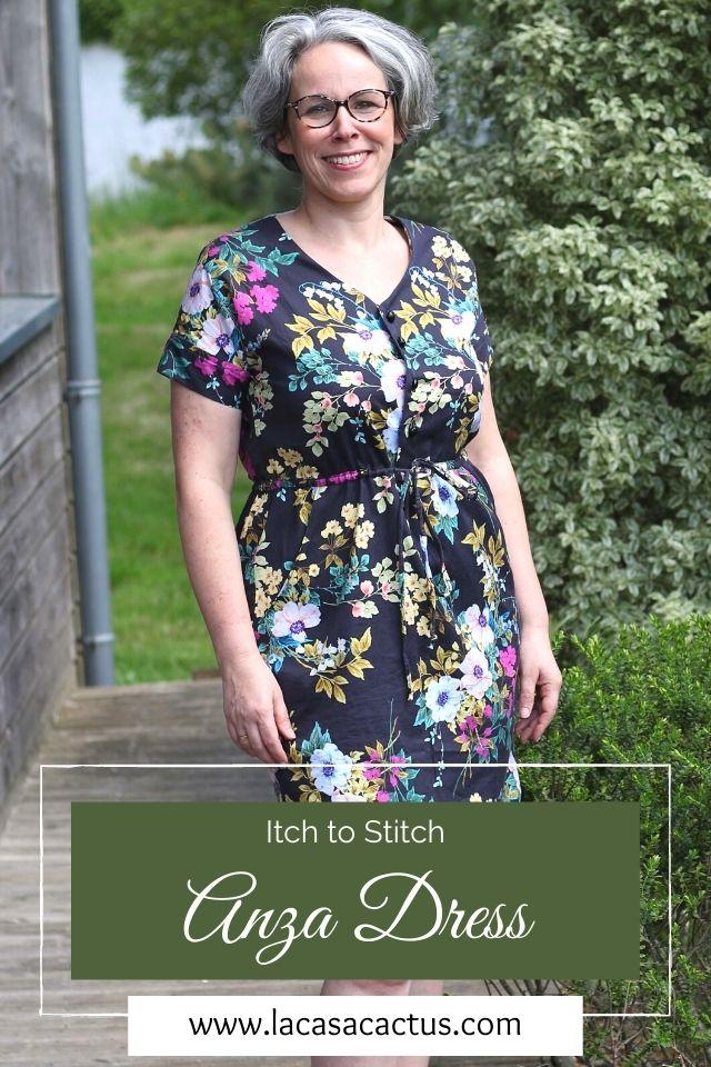 Anza dress-Itch to Stitch, Lac Casa Cactus