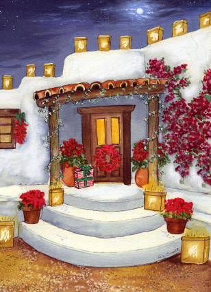 Southwest Christmas Cardsnote Cards Southwest Postcards
