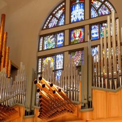 The Berghaus Pipe Organ at La Casa De Cristo Lutheran Church