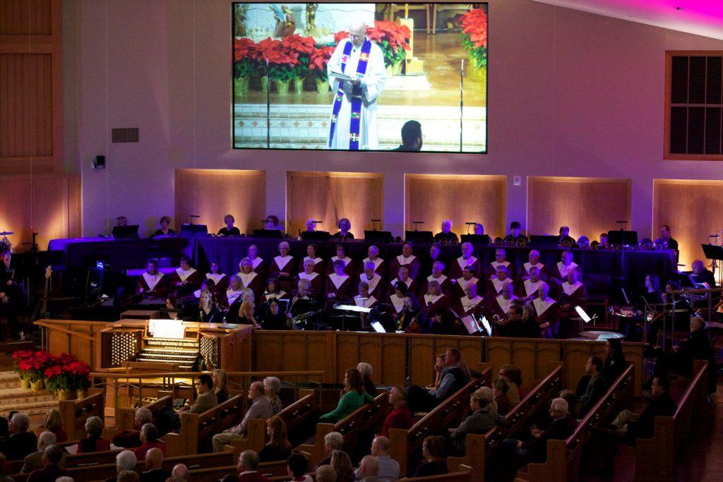 LCDC Choir and Carillon Bells on Christmas 2016