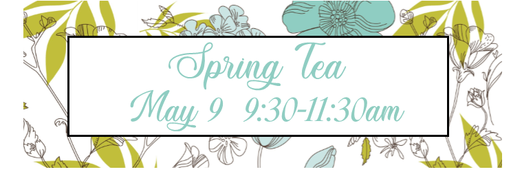 Spring Tea 2020 Registration Graphic