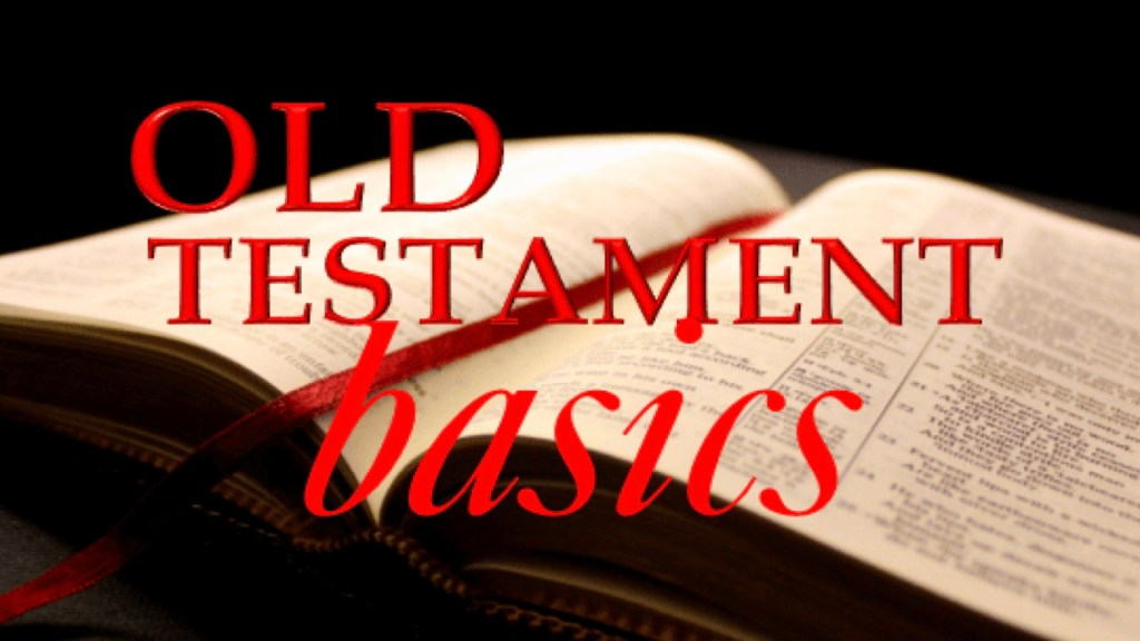 Old Testament Basics graphic 2