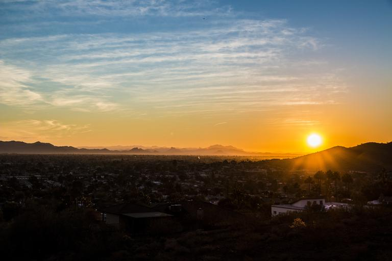 scottsdale arizona sunset la casa de cristo lutheran church phoenix worship