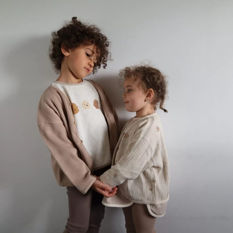Cloudy tee ivory Lala 6-7 ans