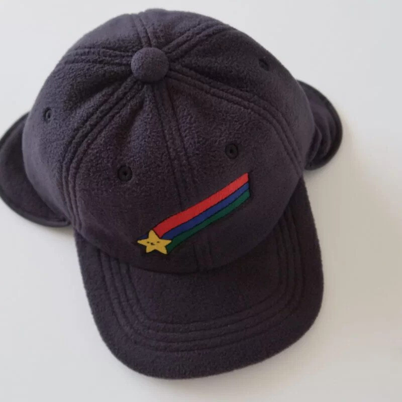 Casquette polaire star earflap Jelly Mallow