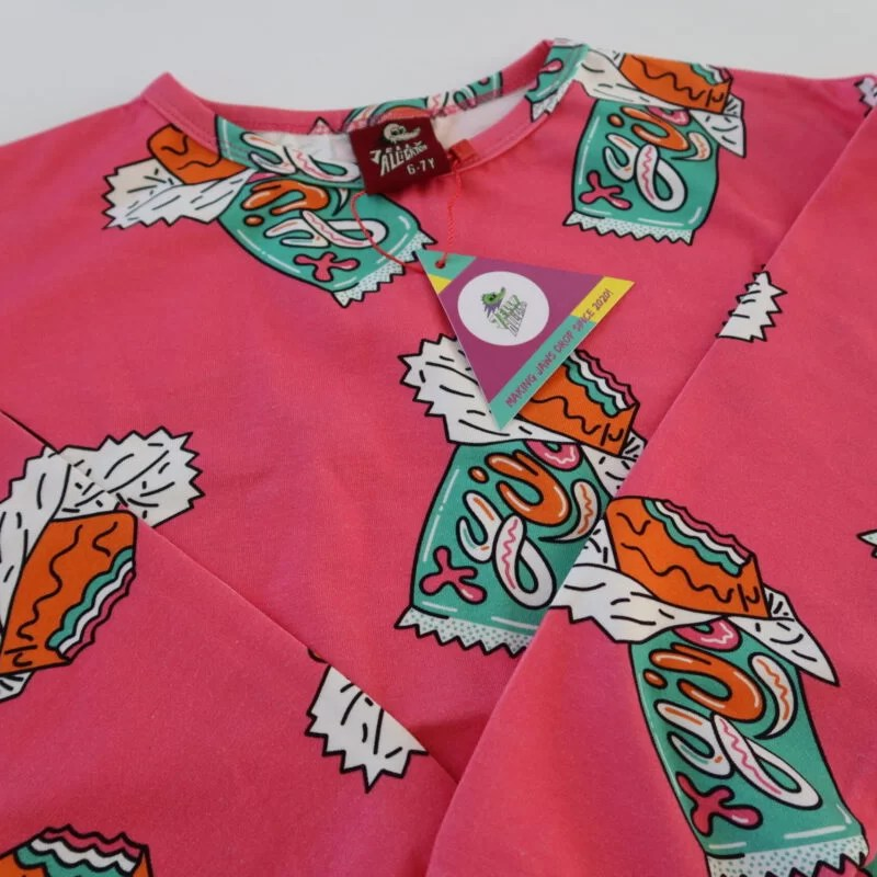 t-shirt candy jelly alligator