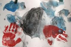 Pintura de Iván a los 4 años.