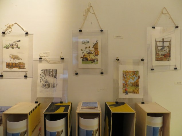 acquerelli in mostra