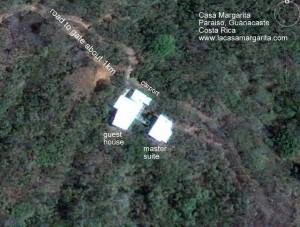 Casa Margarita from space