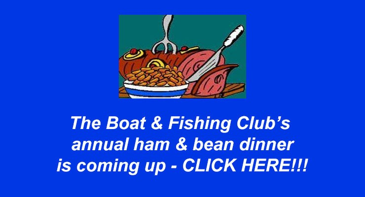Boat Club 2017 Ham & Bean Dinner