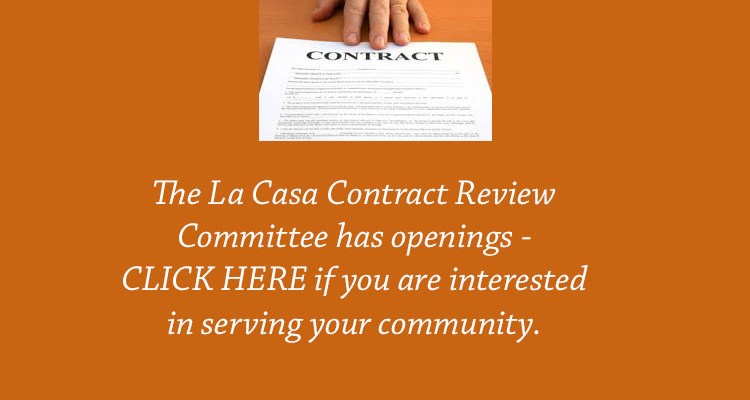 Contract Review Committee Openings – Oct 2017