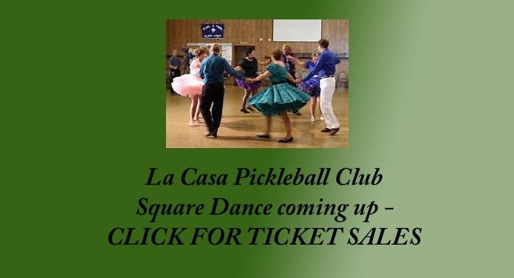 Pickleball Square Dance – Dec 3, 2017