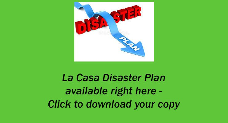 La Casa Disaster Plan – 2018