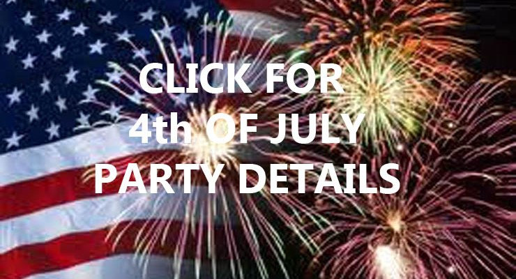 July 4, 2018 Party!!