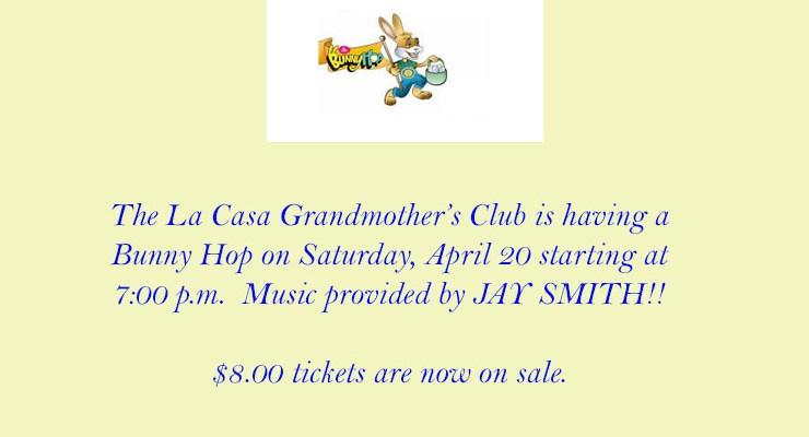 Grandmother's Bunny Hop – April 20, 2019