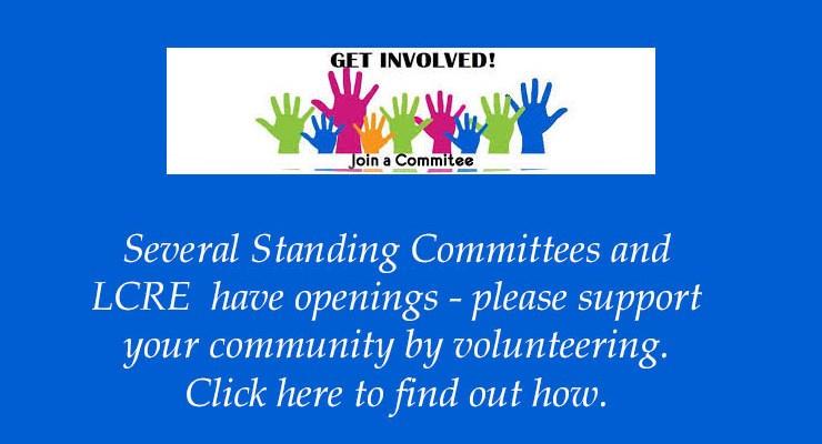 Standing Committee Openings – 2020