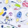 Set en silicone à colorier L'ESPACE