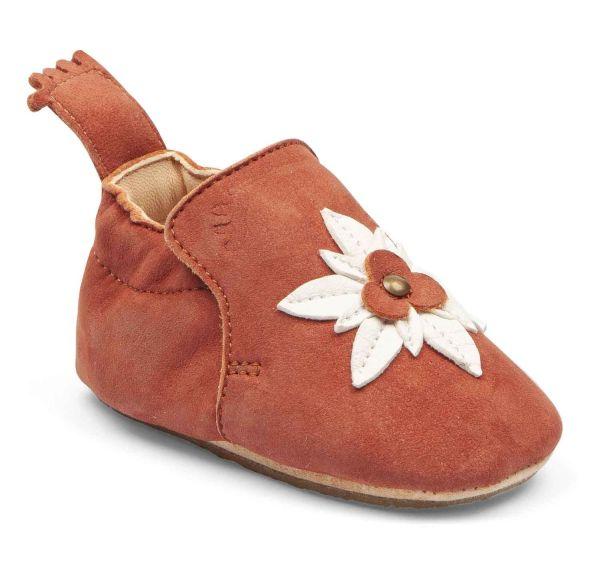 chaussons cuirs easy peasy blublu edelweiss