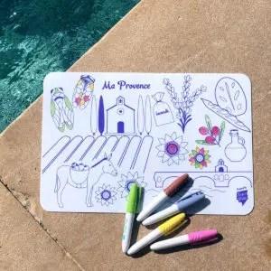 Mini Playmat PROVENCE Réversible super petit